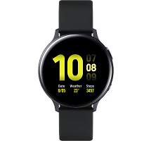 Умные часы Samsung Galaxy Watch Active2, 40mm, алюминий (лакрица)